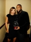 Tisha Campbell Martin with Courage Award Honoree B. Slade