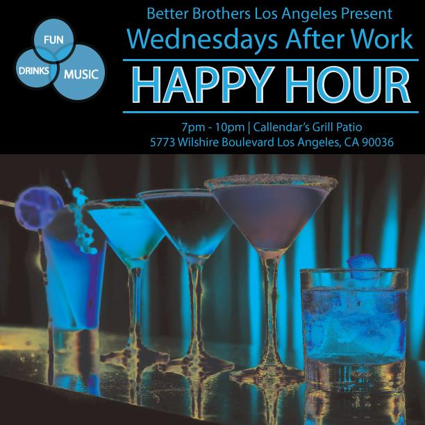 Wednesdays After Work Happy Hour - 8/12